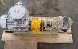 NYP高粘度转子沥青保温泵