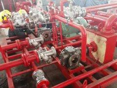 圆弧泵安装现场